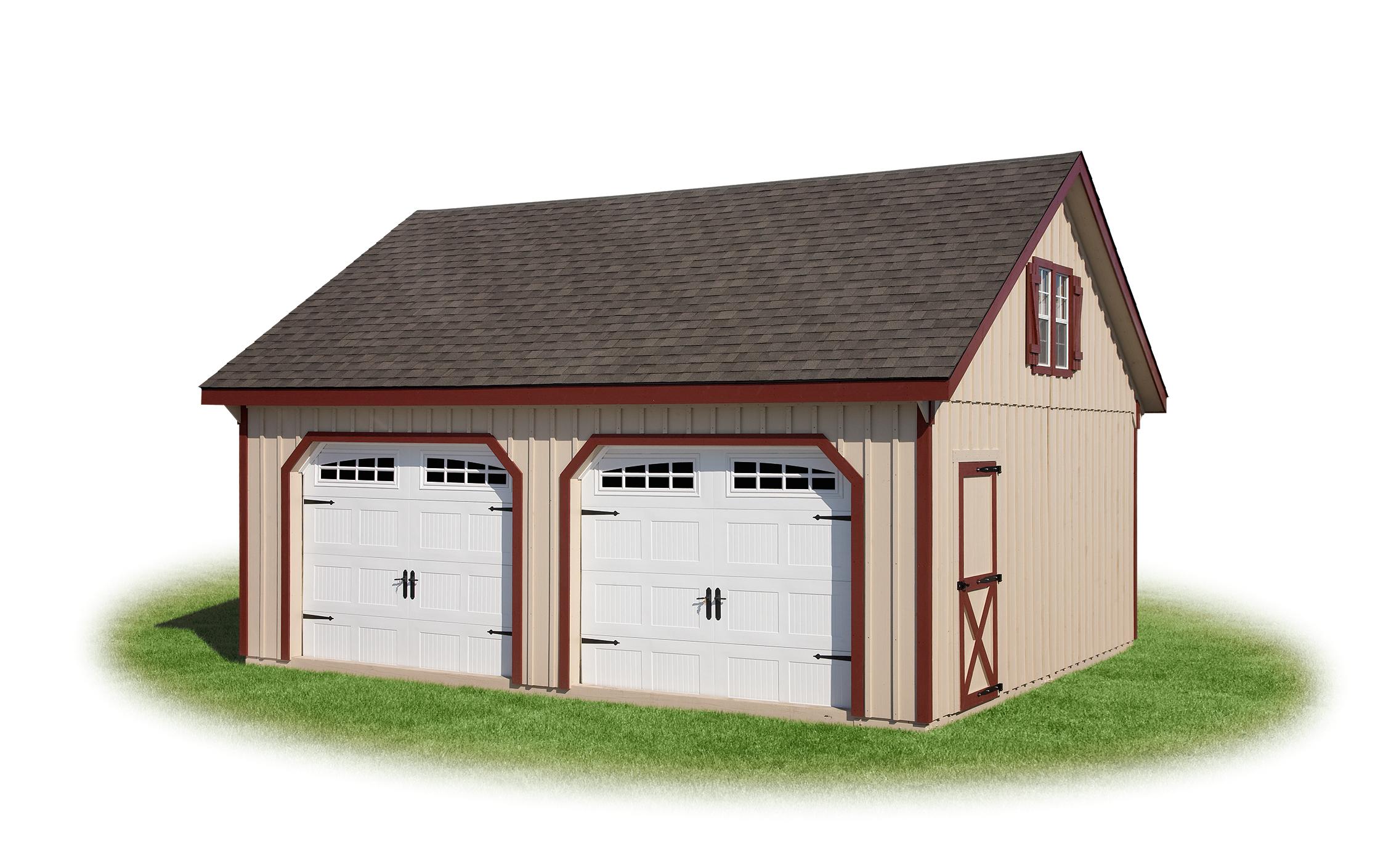 Modular garage full loft 2 for Modular garages with loft