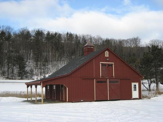 High Country Barn with Lean To