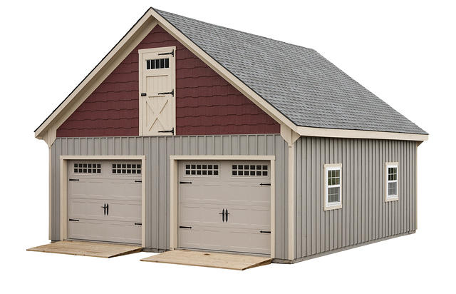 Modular garage full loft for Modular garages with loft