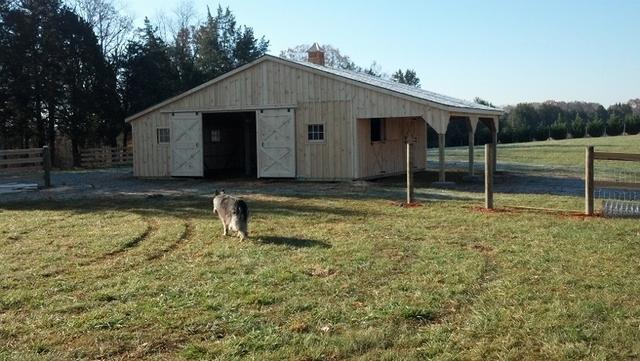 Trailside Barn With Lean To